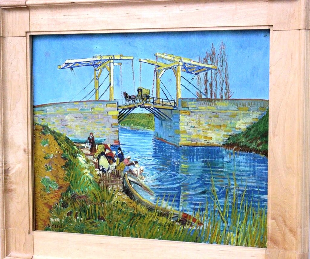ציור של ואן גוך במוזיאון קרולר מולר
