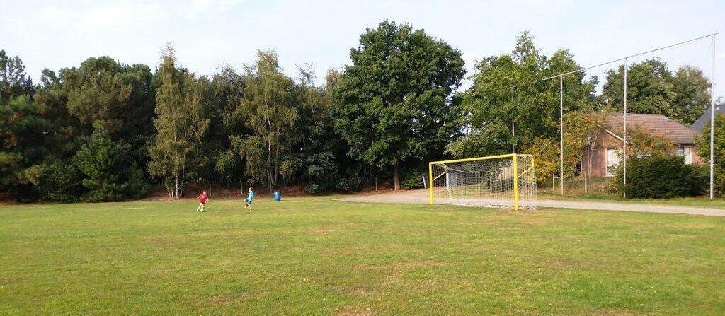 מגרש הכדורגל בפרק השעשועים בילי בירד בהולנד