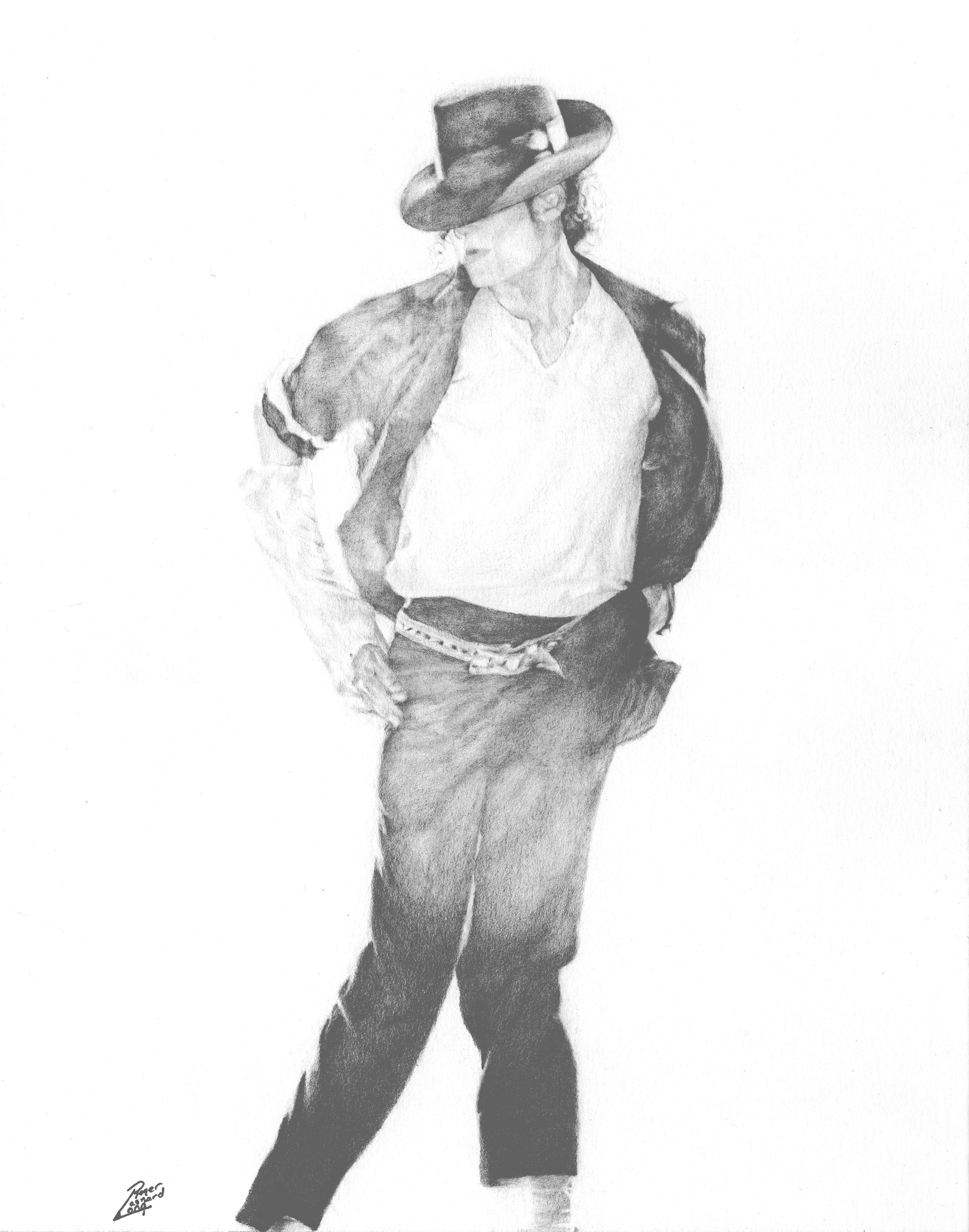 """Moonwalker Graphite You will receive a print of the graphite drawing is one of my photo realism pieces of The King of Pop. It was one I completed due to an overwhelming demand. I plan to do another in the future. Your signed print will be securely delivered with a certificate of authenticity and ready to frame. Note: This print is available in multiple sizes. If you would like to order a custom original or have any questions feel free to visit the """"how to order a custom original"""" page. Thank you for viewing and purchasing!"""