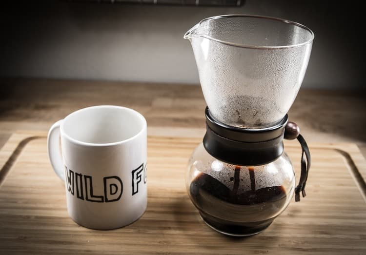 Brewing Coffee with a Nel Drip Pot