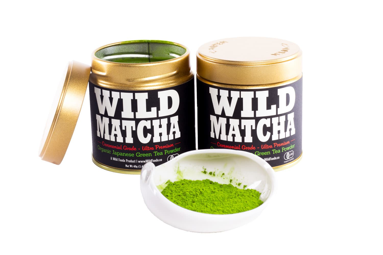 Wild Foods Ceremonial Grade Matcha Teas