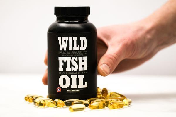 Reaching for Fish Oil Caps
