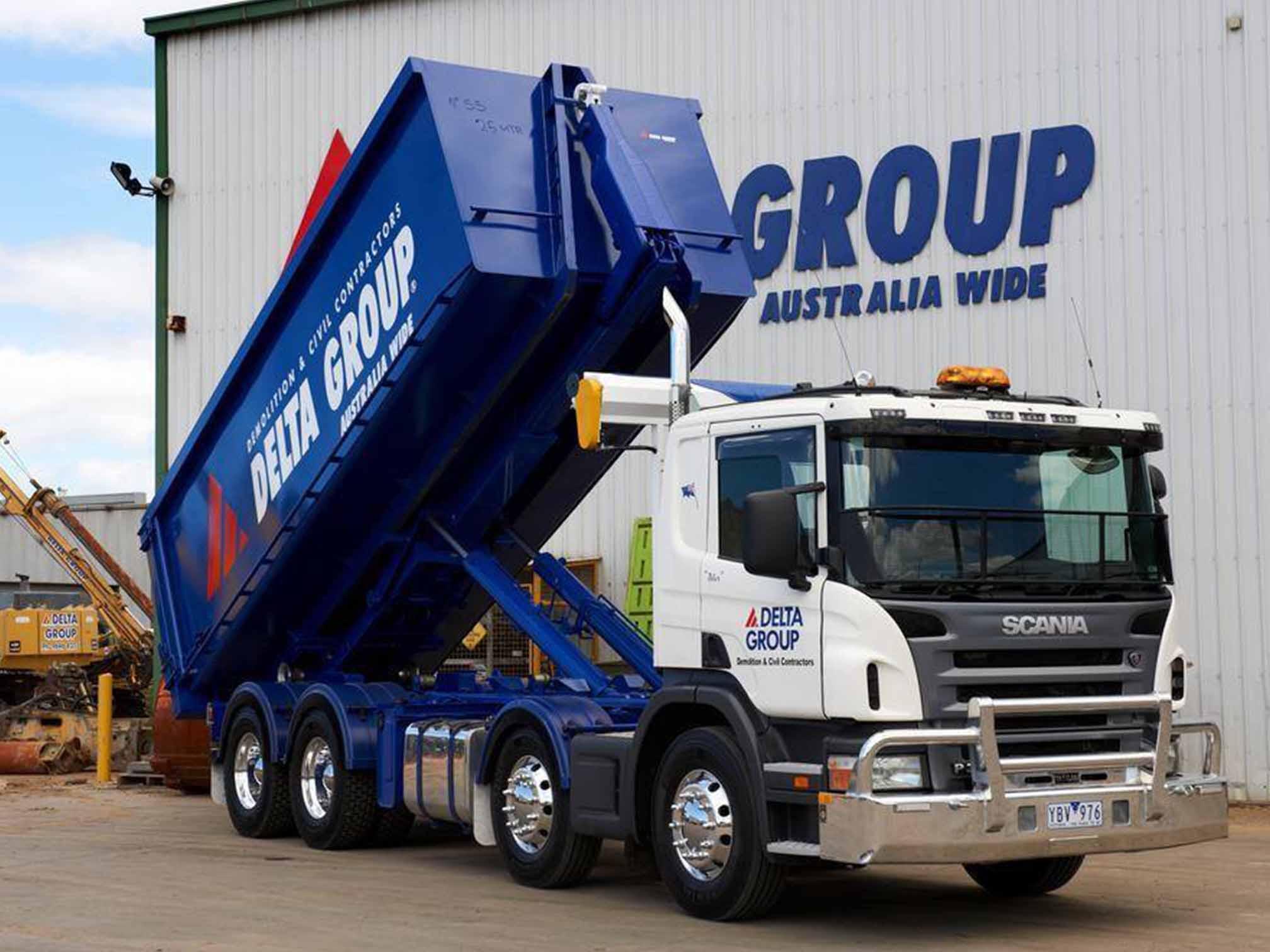 Waste Equipment BTE Bulk Transport Equipment Trailer