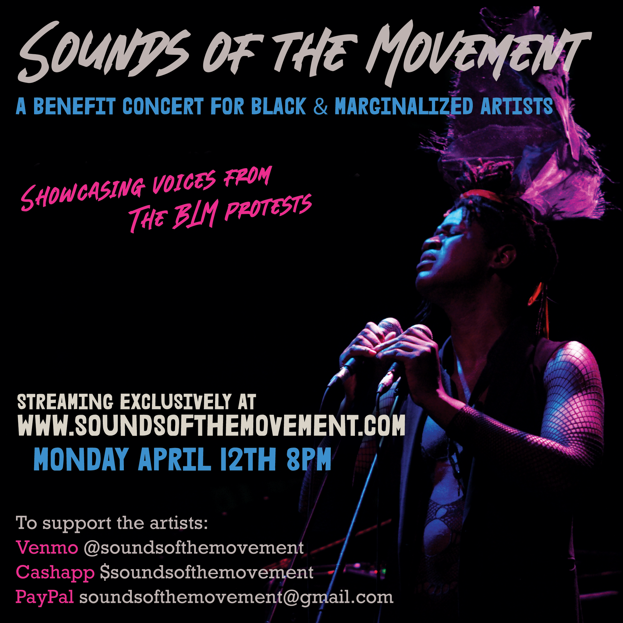 Sounds of the Movement at La MaMa graphic