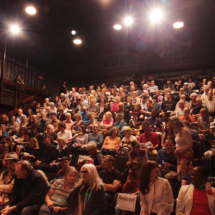 photo of the audience