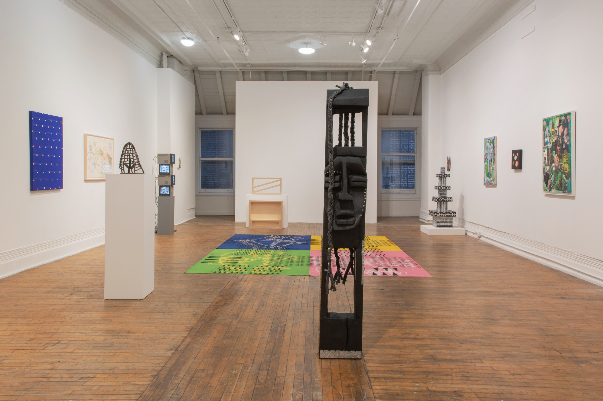 photo of the gallery space
