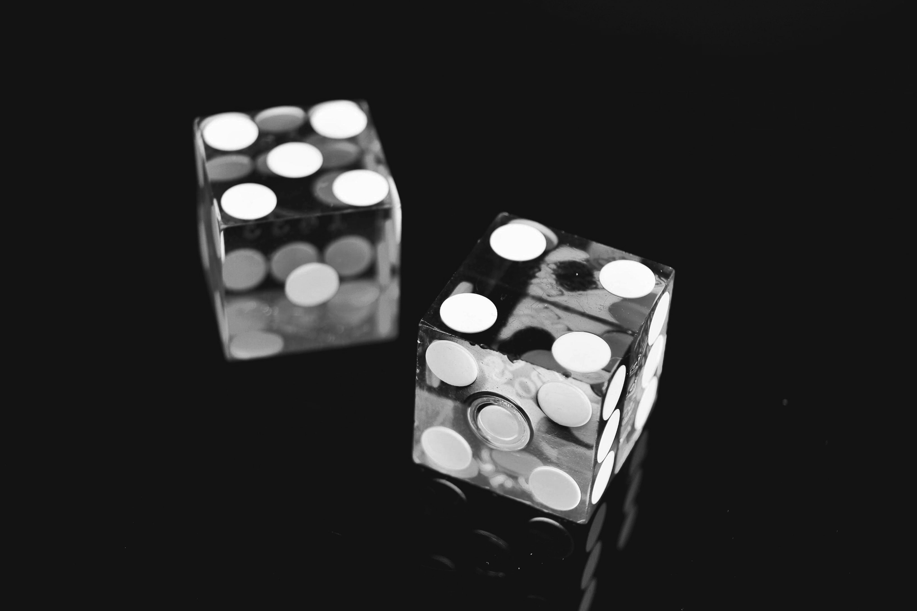 two 6 sided dice