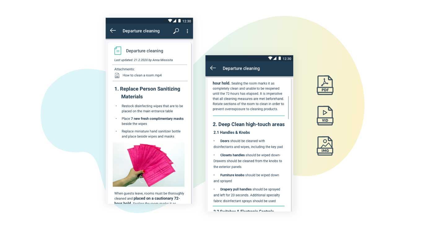 SOP's Flexkeeping App