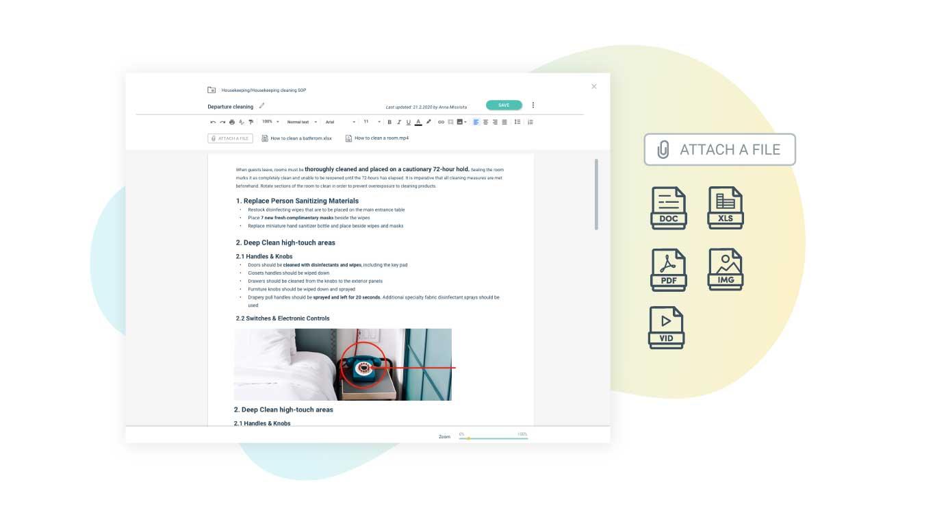 Storing SOP documents