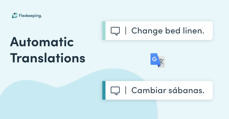 Flexkeeping Automatic Translations