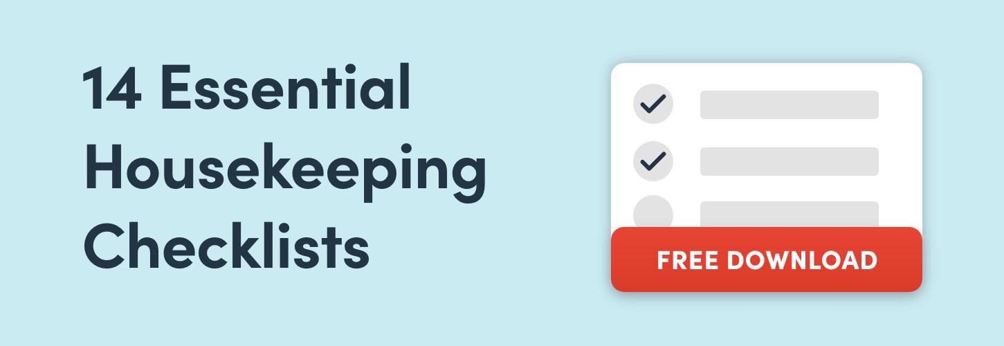 14 Essential Housekeeping Checklists