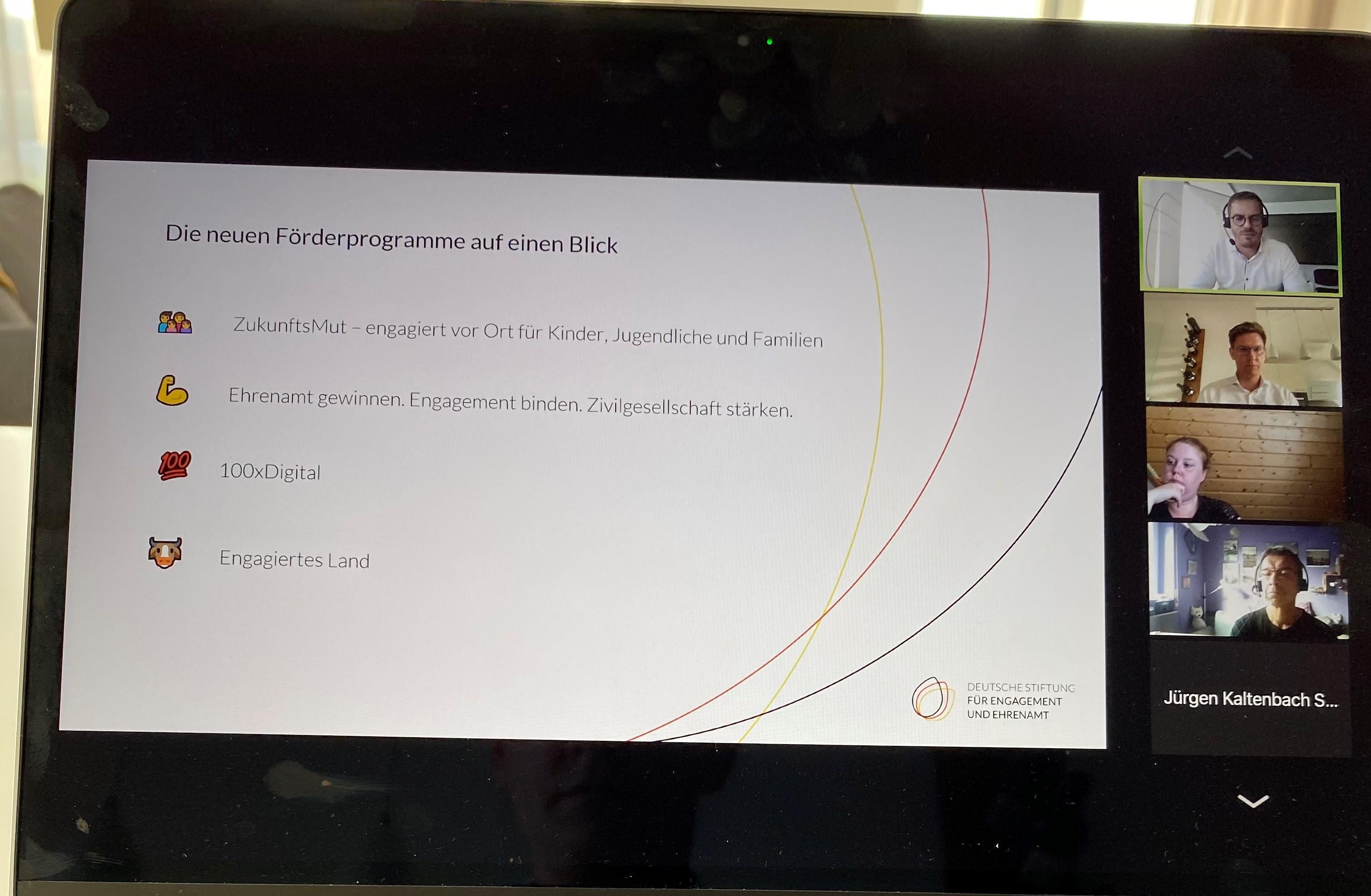 Der CDU-Bundestagsabgeordnete Johannes Steiniger hat die Vereine in der Region gemeinsam mit der Deutschen Stiftung für Engagement und Ehrenamt eingeladen, um sich über neue Förderprogramme für das Ehrenamt zu informieren.