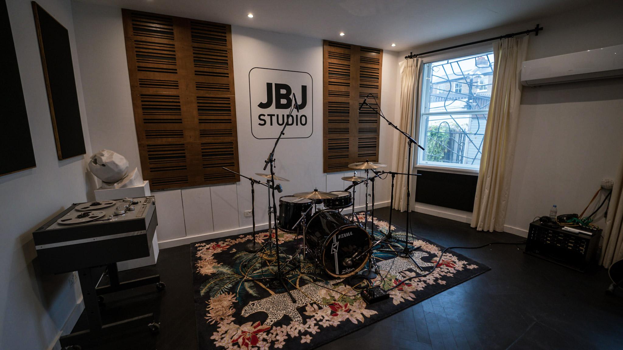 The live room at JBJ studio in Uxbridge