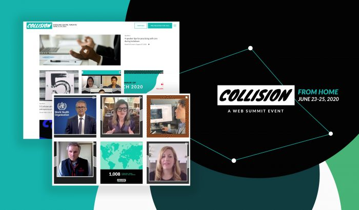 Collision From Home conference 2020, a web summit event