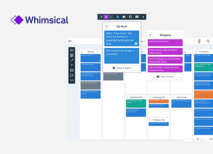 Product design tools-whimsical