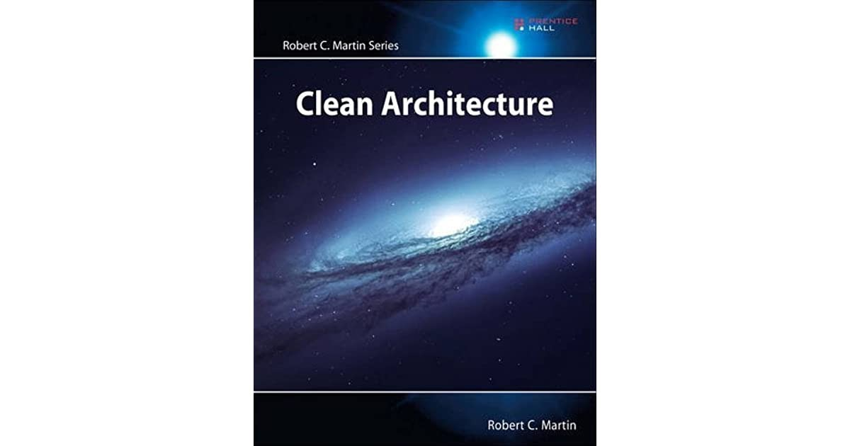 Clean Architecture book by Robert C Marting, A.K.A uncle bob