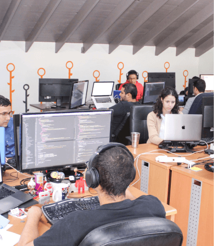 Dev Team Working