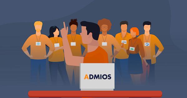 Work with the Admios dev team