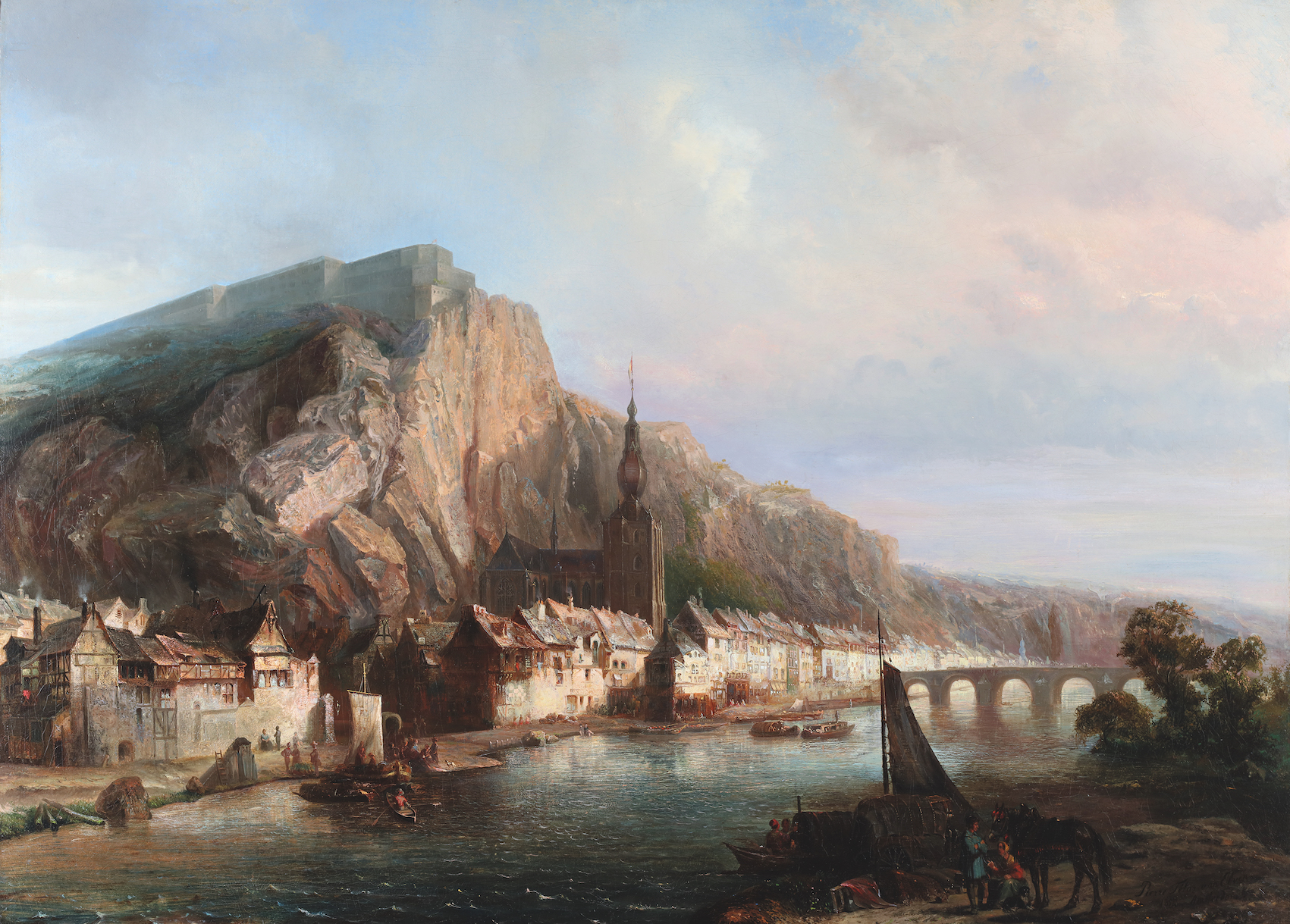 View of Dinant