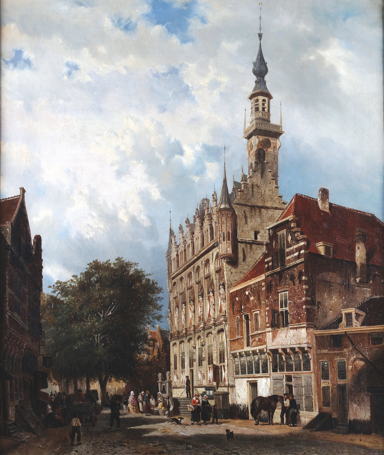 The town hall of Veere