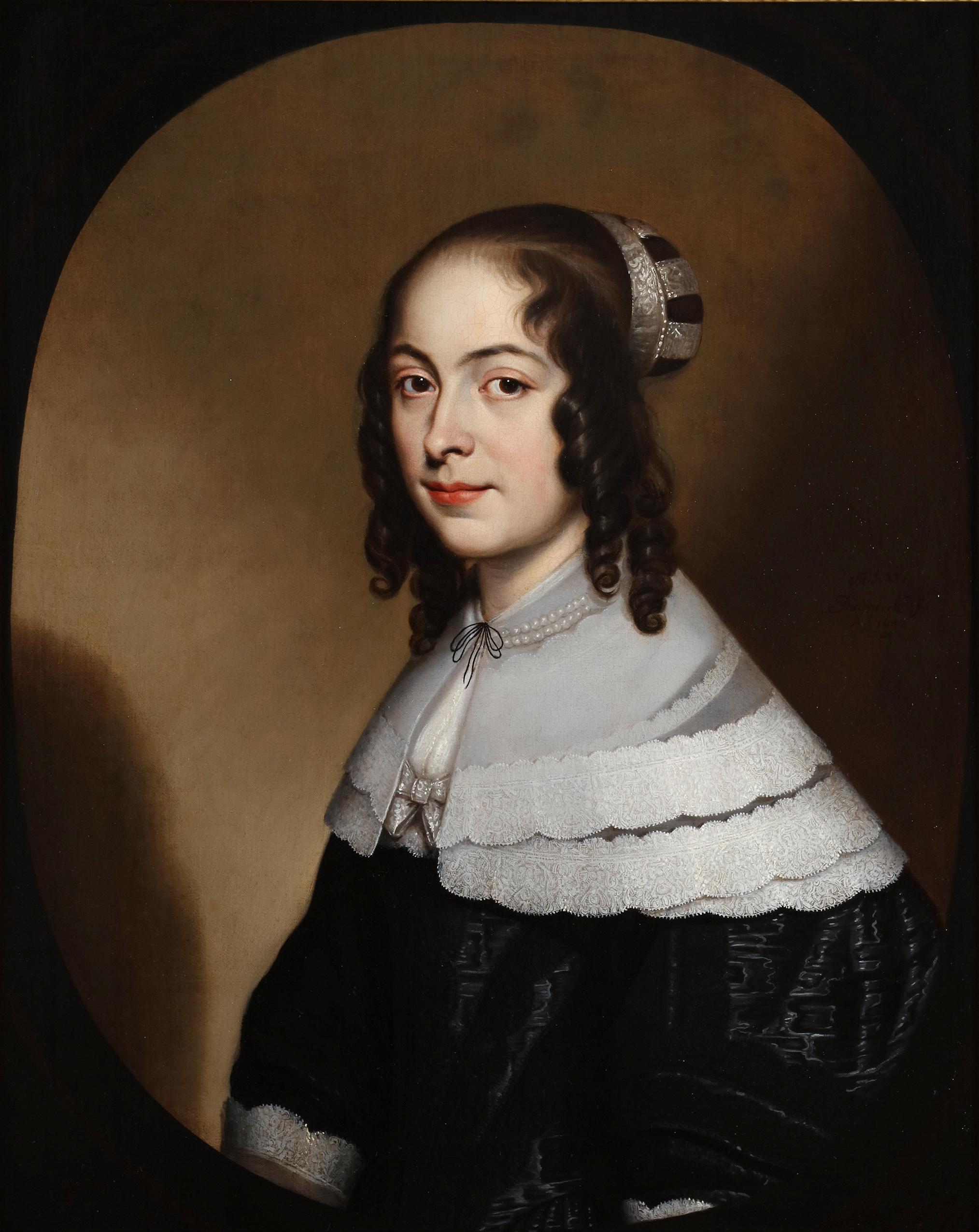 A portrait of Elizabetha Margaretha de Spina (1626-1702)