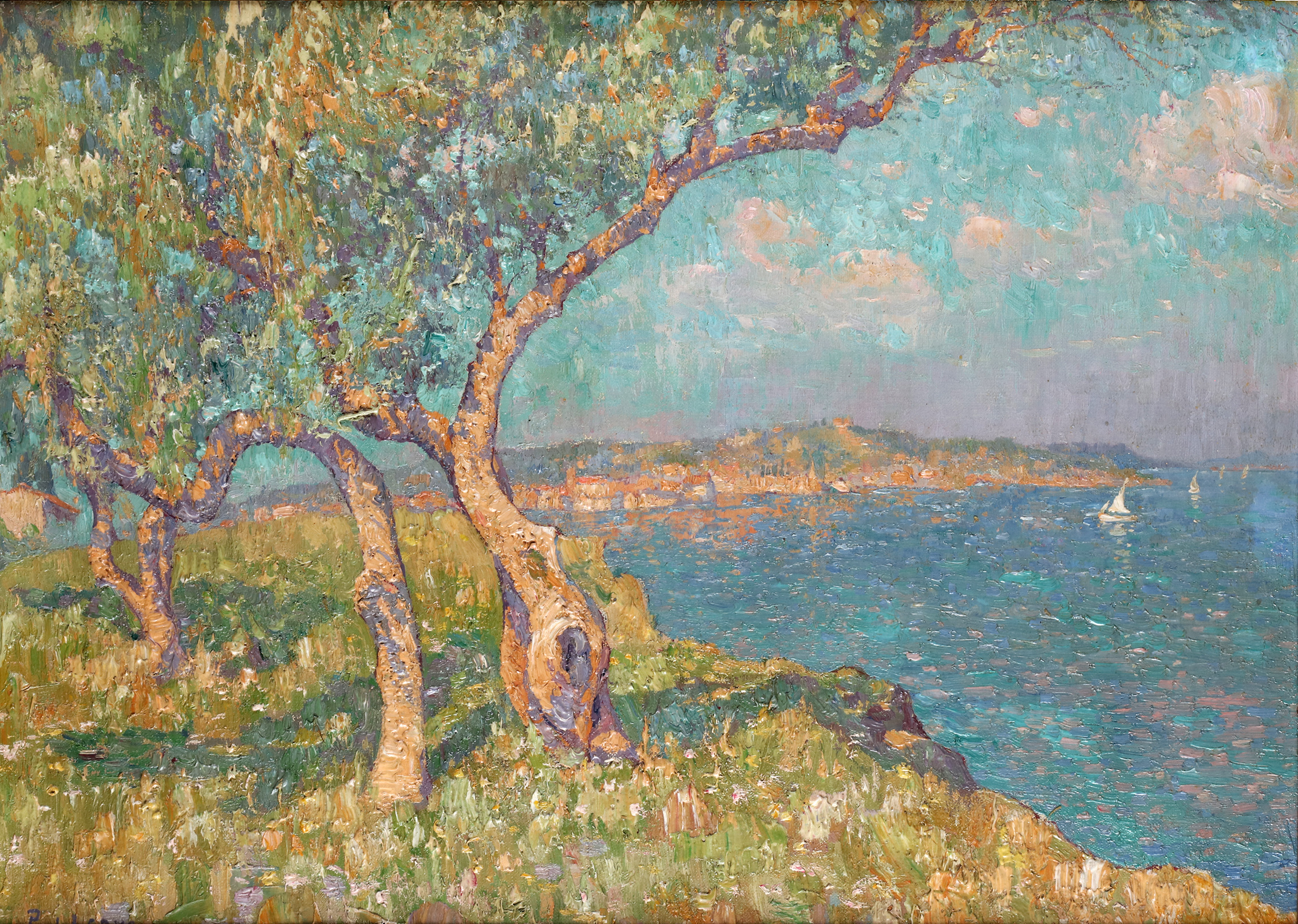 A panoramic view of Saint-Tropez