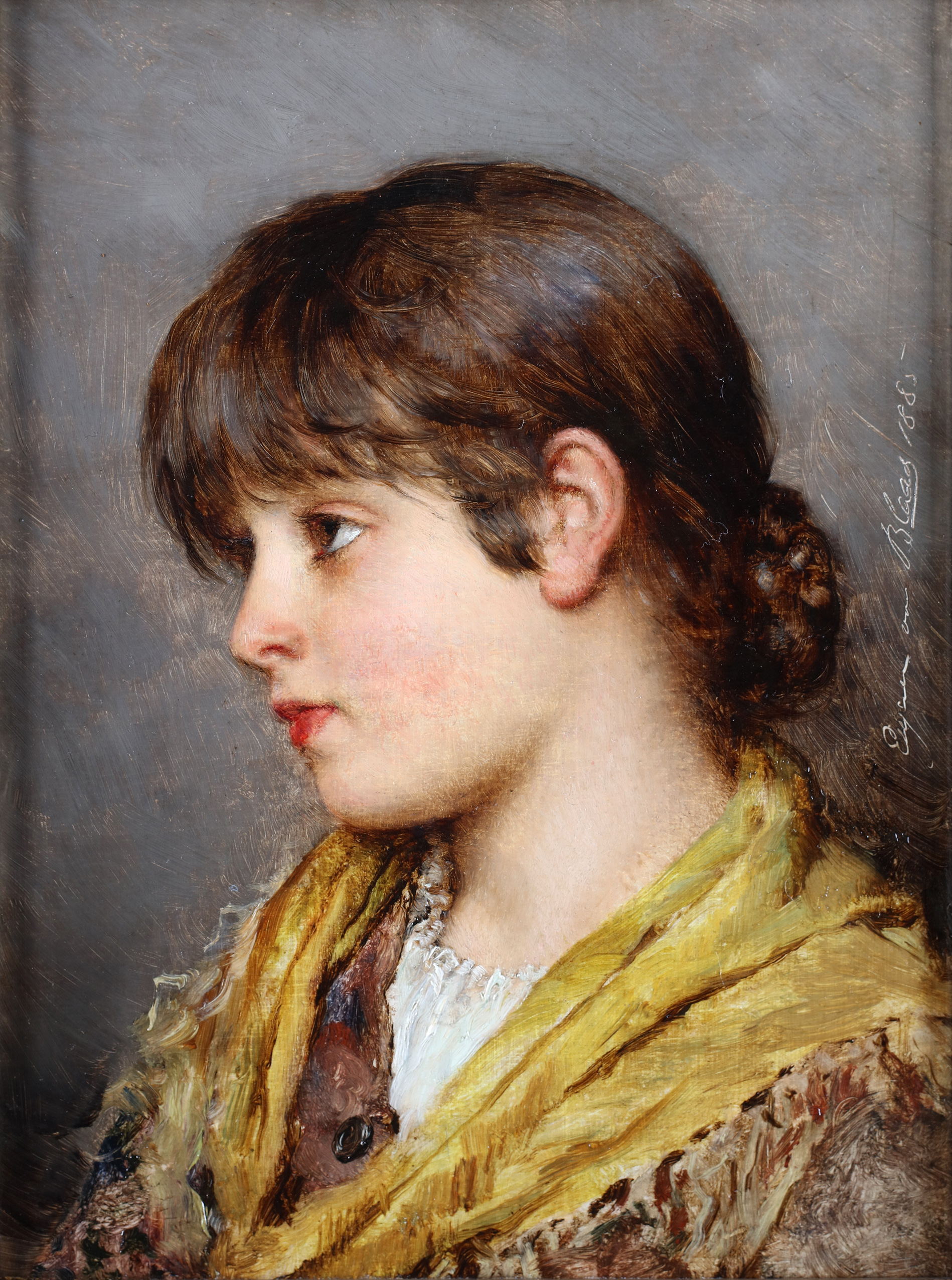 Portrait of a young Venetian girl