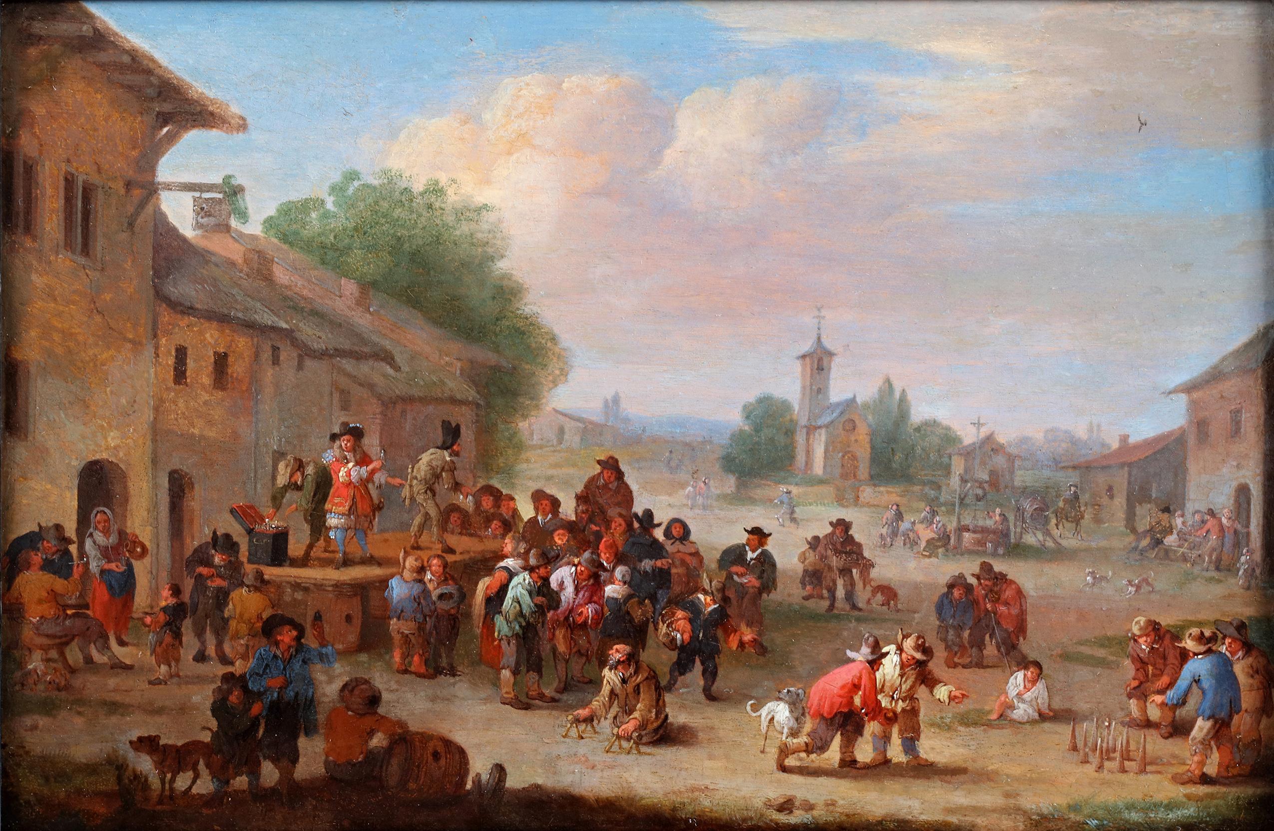 Festivities on the village square