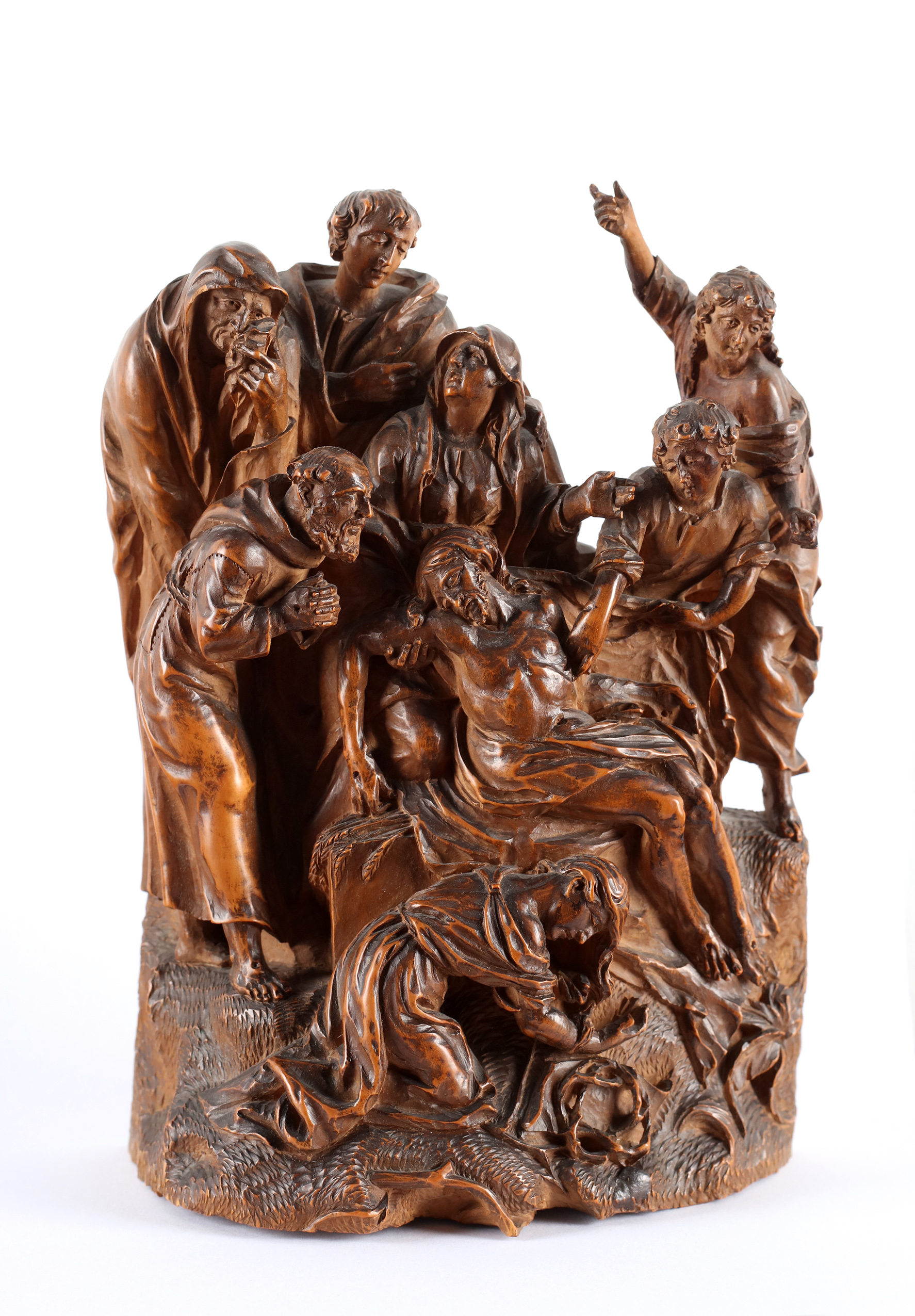 A group representing the Lamentation of Christ