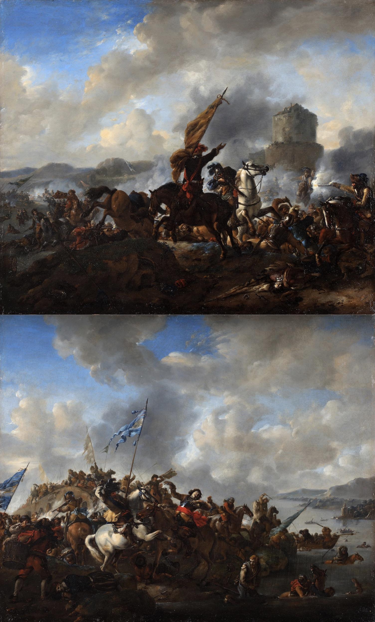 The battle of Zusmarshausen