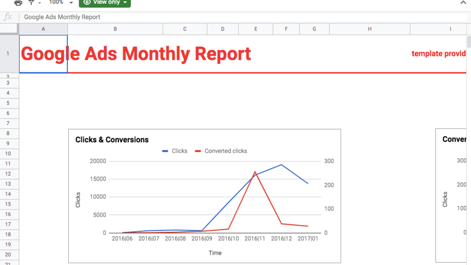 Google Ads Monthly Report