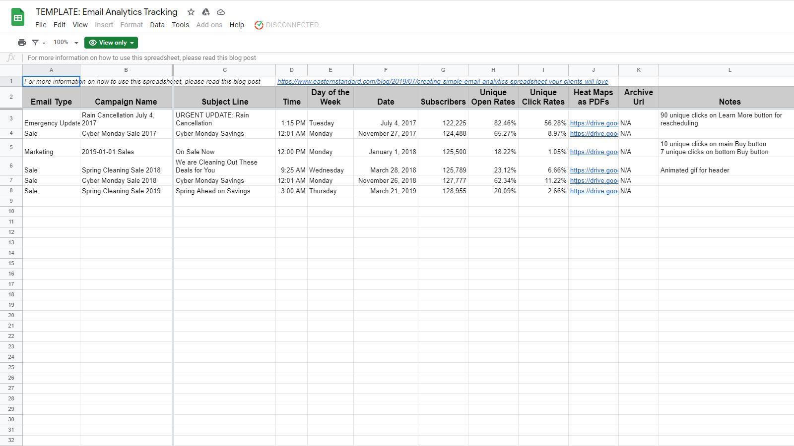 Email Analytics Tracking