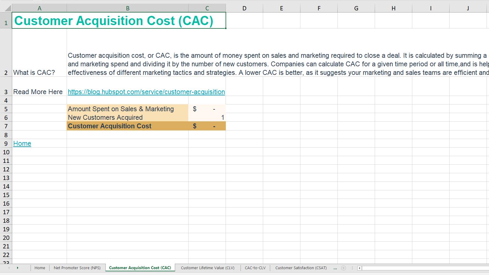Customer Service Metrics Calculator