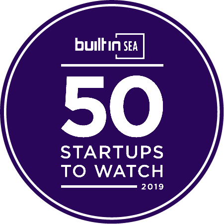 Logo of Built in Seattle, an award won by Refactr