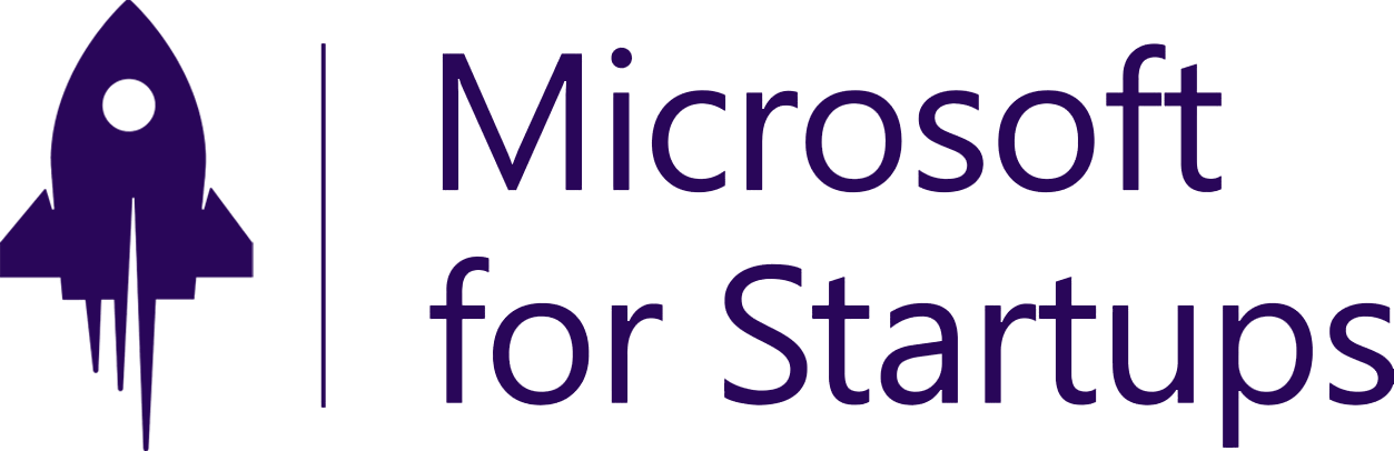 Logo of Microsoft Startups, an award won by Refactr