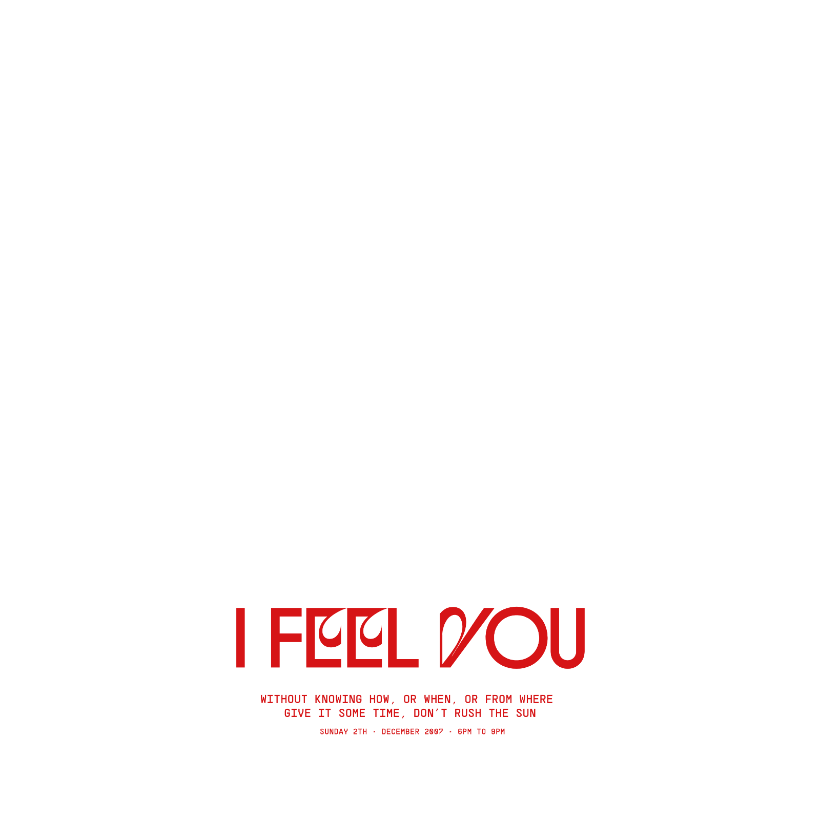 Acid BÜRN I Feel You Album Cover