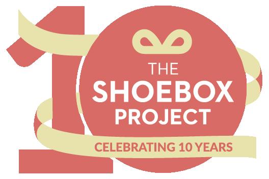 Shoebox Project 10 Year Anniversary logo