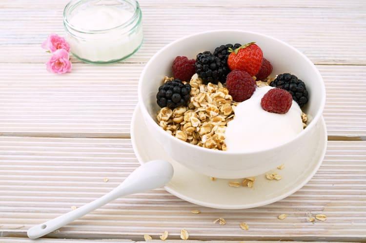 healthy oats for breakfast