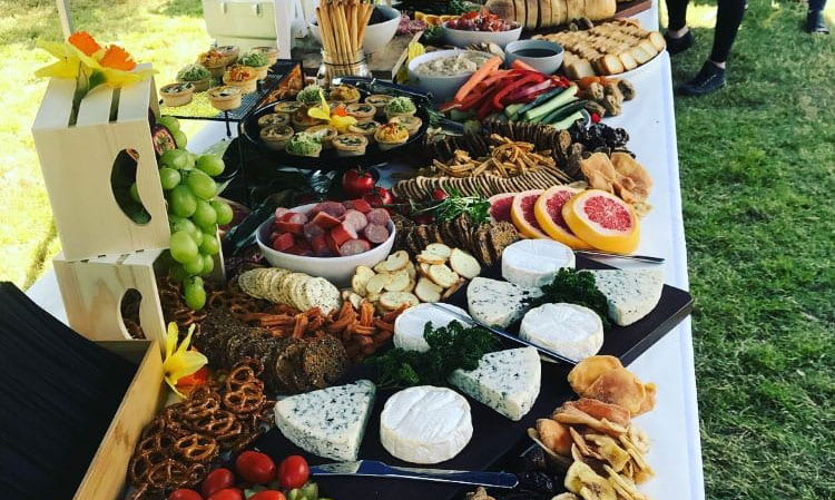 vegan catering - try a vegetarian grazing table