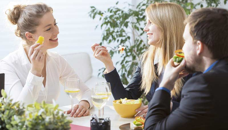 office catering can increase employee productivity
