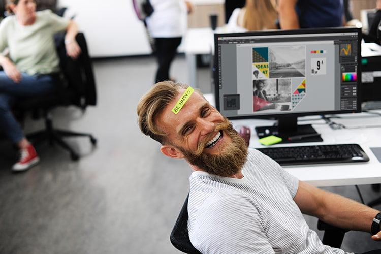 happy staff are productive staff