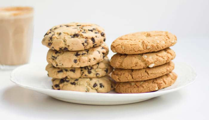 add cookies as a side to your work lunch