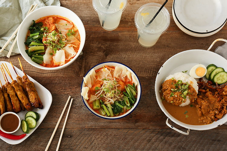 try Malaysian catering for your next working lunch