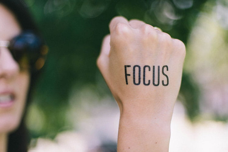 stay focused at work!