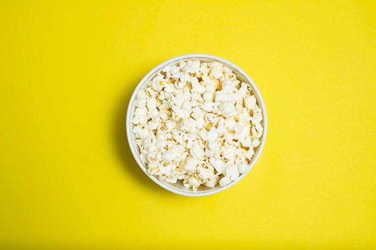 popcorn is a great healthy snack alternative