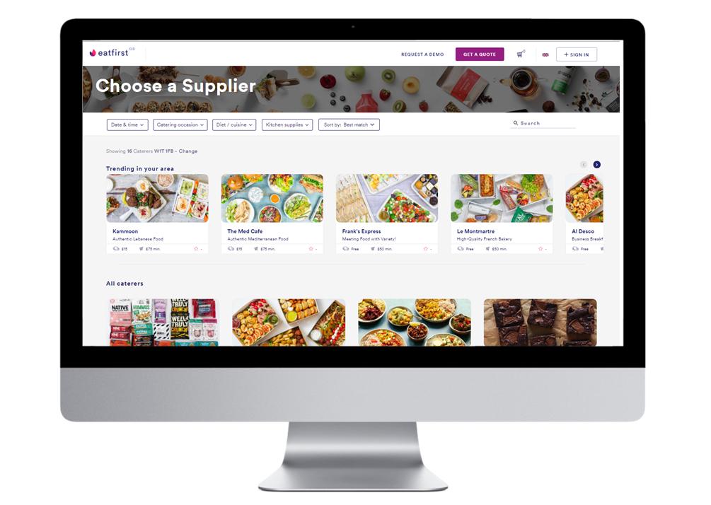 EatFirst GB Marketplace