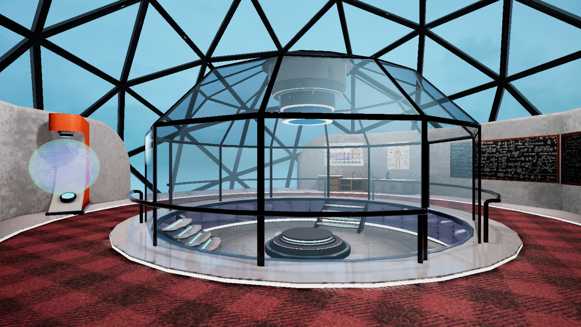 image of lab environment in a game created by Sounak