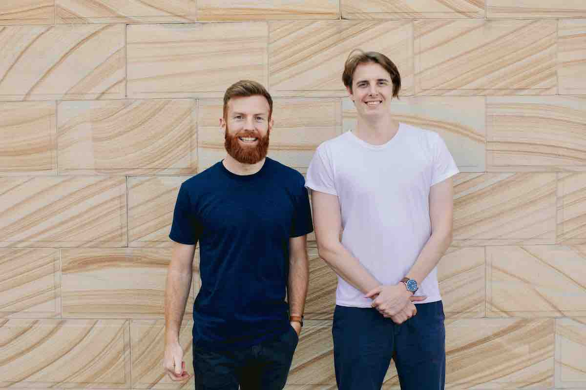 A picture of the Portant co-founders, James and Blake.