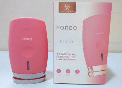 Máy triệt lông Foreo Peach