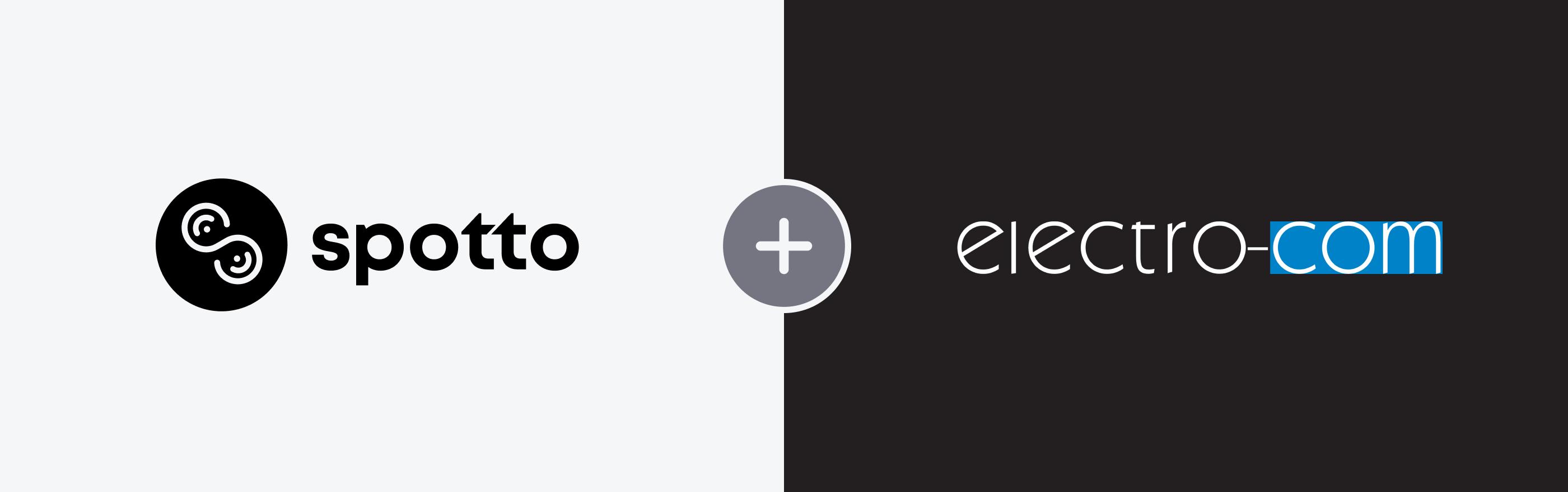 Spotto and Electro-Com logos